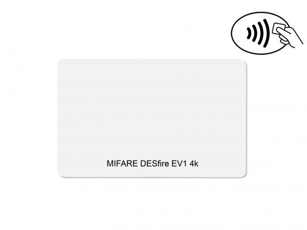 Chipkarten MIFARE DESfire EV1 4k
