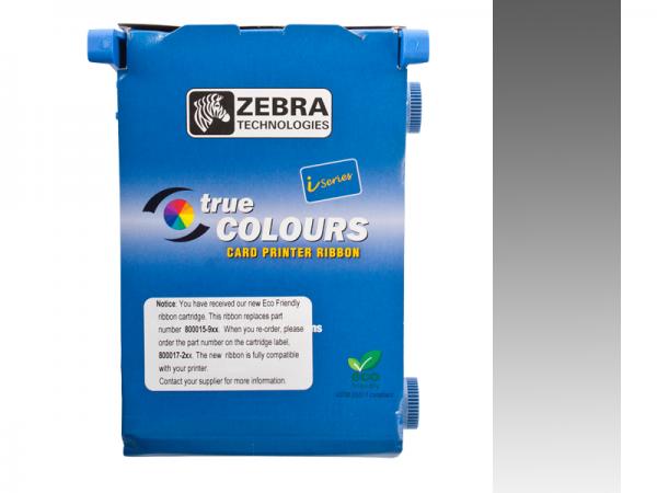 Zebra Value Line Eco Farbband silber monochrom