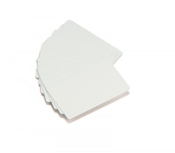 Zebra PVC Karte 0,381 mm weiss Rücken beschreibbar