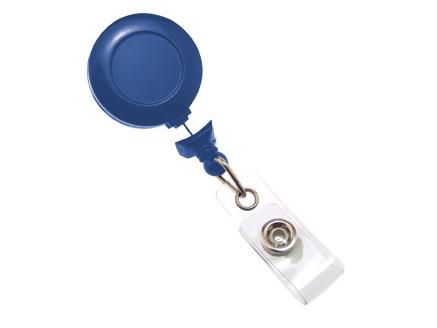 No Twist Kartenjojo mit Ansteckclip königsblau