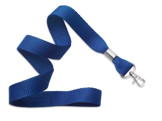 MicroWeave Lanyard, königblau, 16mm