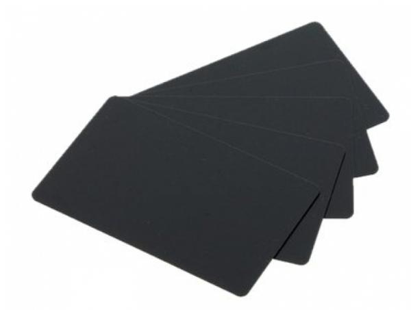 Evolis PVC-U-Karten mattschwarz