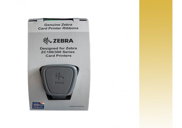 Zebra Farbband ZC Series gold 800300-306