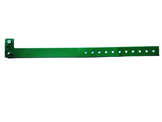 Vinyl Armband Perma Snap grün