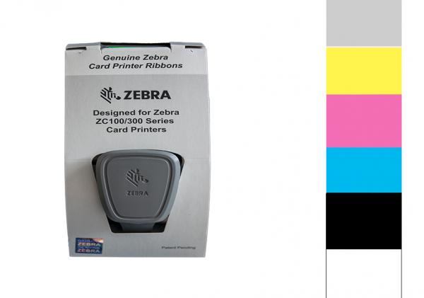 Zebra Farbband ZC Series SDYMCKO 800350-264EM