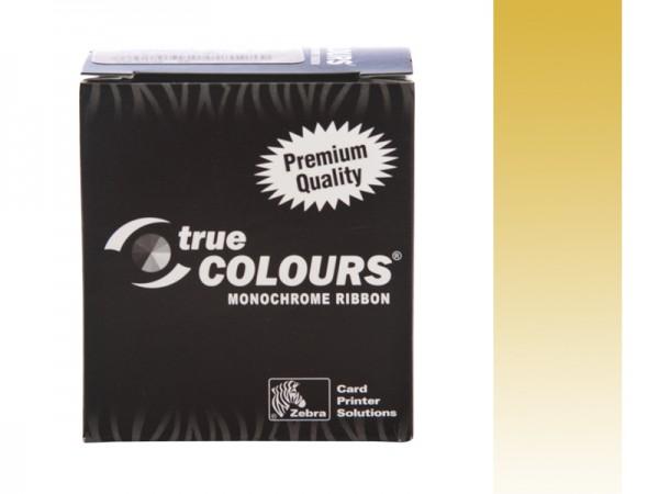 Zebra Performance Line Farbband gold monochrom