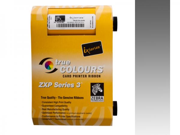 Zebra ZXP Series 3 Farbband Silber monochrom