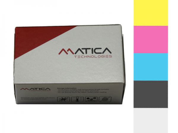Matica Espresso Moca YMCKO Farbband PR000032