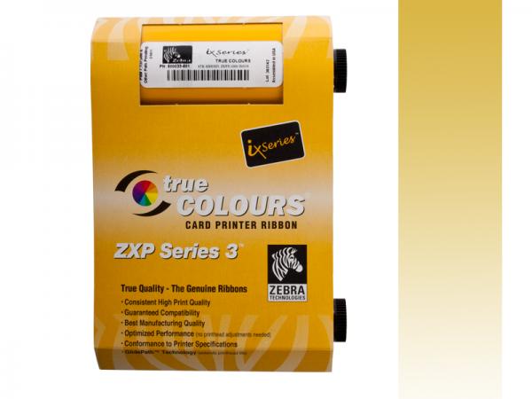 Zebra ZXP Series 3 Farbband Gold monochrom