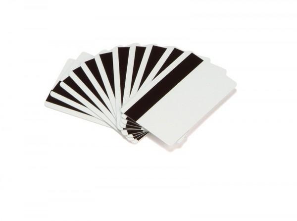 Zebra PVC Karten 0,762 mm Magnetstreifen LoCo