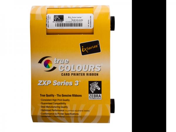 Zebra ZXP Series 3 Farbband schwarz mono