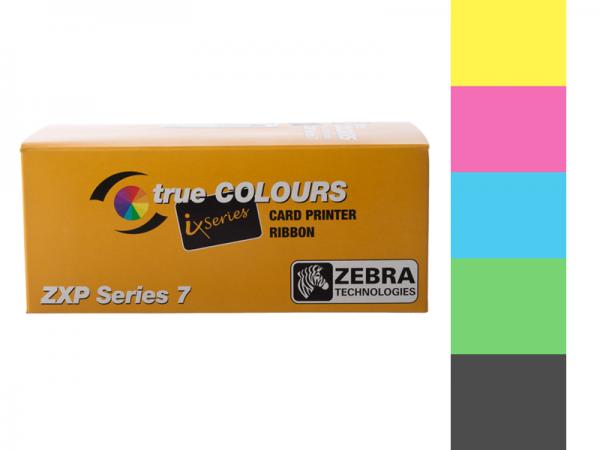 Zebra ZXP Series 7 Farbband YMCUvK 800077-770EM