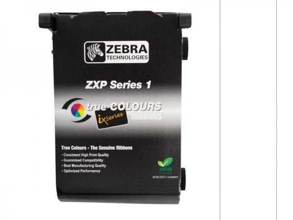 Zebra ZXP Series 1 Farbband weiss monochrom