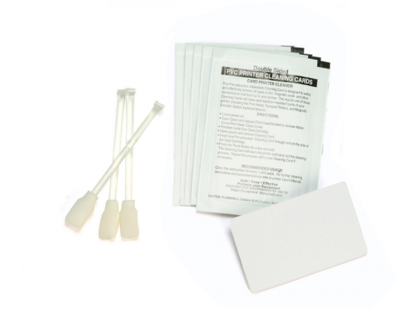Zebra Reinigungskarten Set 105999-400