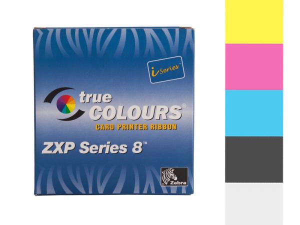 Zebra ZXP Series 8 Farbband YMCKI vollfarbig