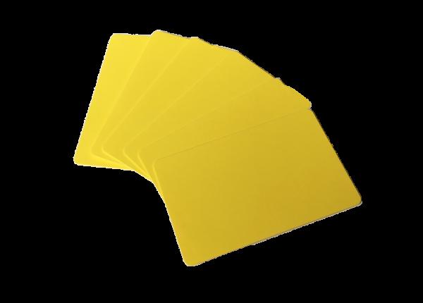 Zebra Premier Karten gelb 0,76mm