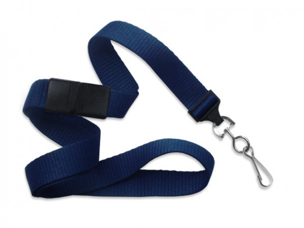 MicroWeave Lanyard, marineblau, 16mm
