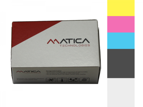 Matica Espresso Halb YMCKO Farbband PR000166