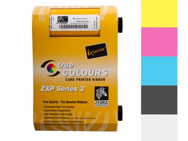 Zebra ZXP Series 3 YMCKO Farbband 800033-840