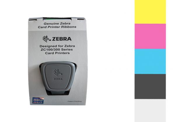 Zebra Farbband ZC Series YMCKO 800300-550EM