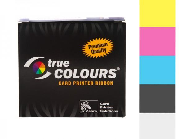 Zebra TrueColors YMCKO 800015-140