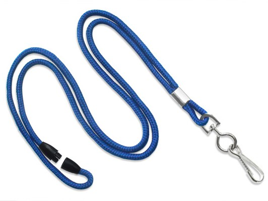 Classic Rund-Lanyard, königsblau, 3mm