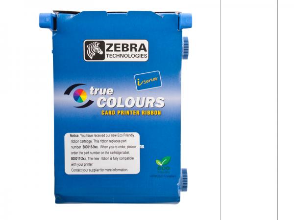 Zebra Value Line Eco Farbband weiss monochrom