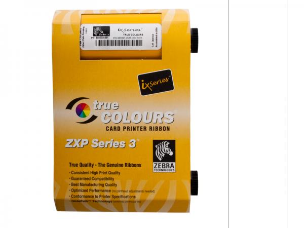 Zebra ZXP Series 3 Farbband weiß 800033-809