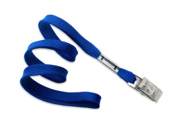 Classic Flach-Lanyard, königsblau, 10mm