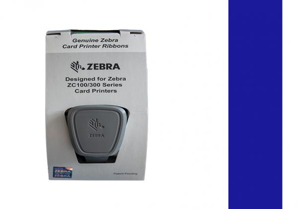 Zebra Farbband ZC Series blau 800300-304