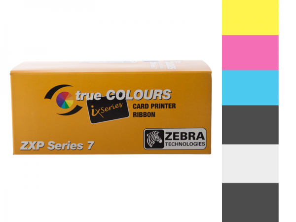 Zebra ZXP Series 7 Farbband YMCKOK 800077-748EM