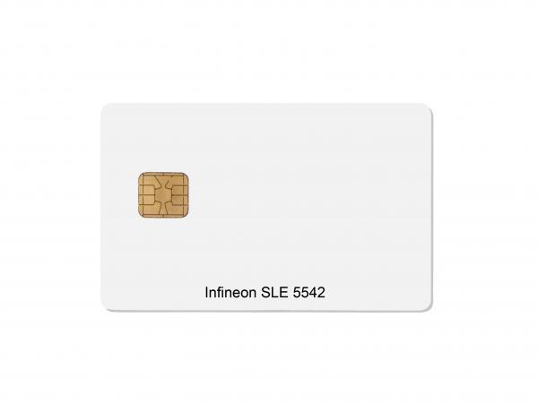 Chipkarte Infineon SLE5542