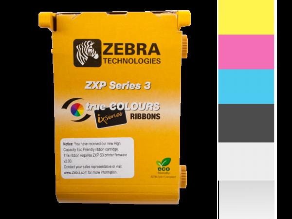 Zebra Farbband YMCKOO