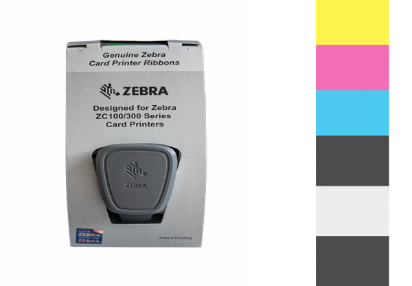 Zebra Farbband ZC Series YMCKOK 800350-360EM