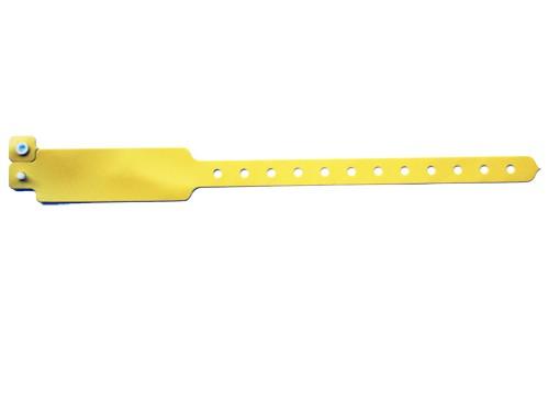 Vinyl Armband Perma Snap gelb