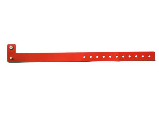 Vinyl Armband Perma Snap rot