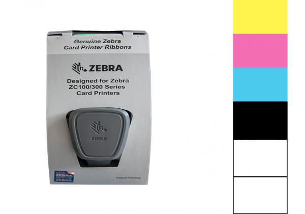 Zebra Farbband ZC Series YMCKLL 800350-563EM