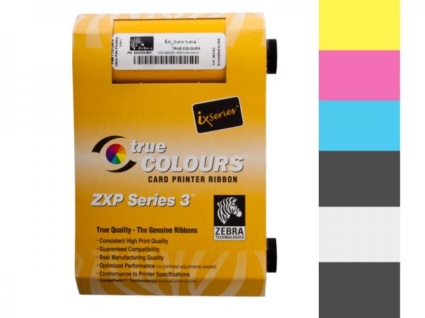 Zebra ZXP Series 3 Farbband YMCKOK