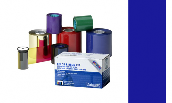 Datacard Farbband Dunkelblau 532000-003