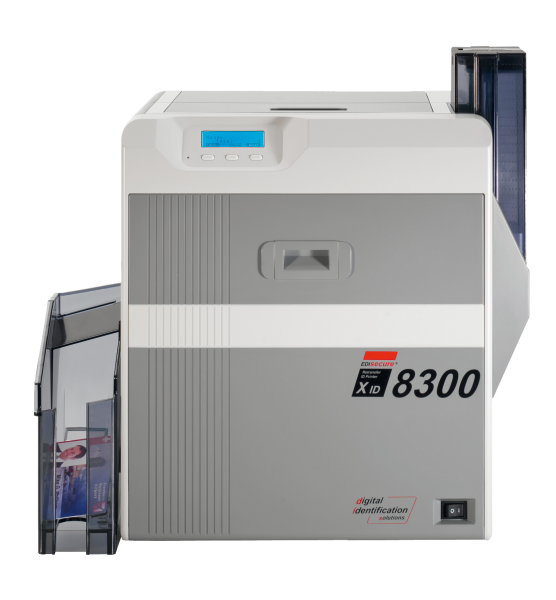EDIsecure XID 8300 Retransfer Frontansicht