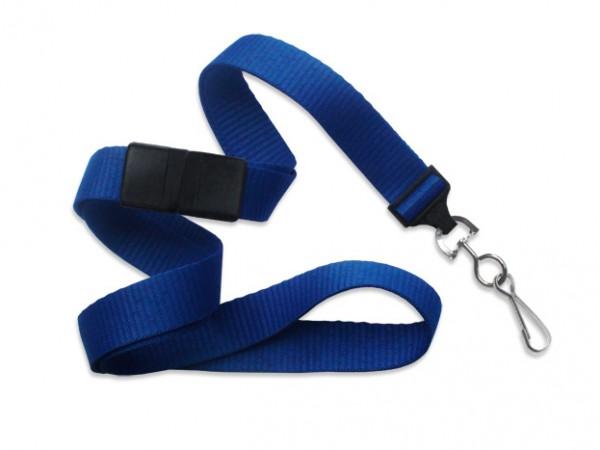 MicroWeave Lanyard, königsblau, 16mm