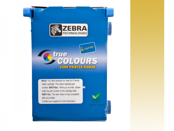 Zebra Value Line Eco Farbband gold monochrom