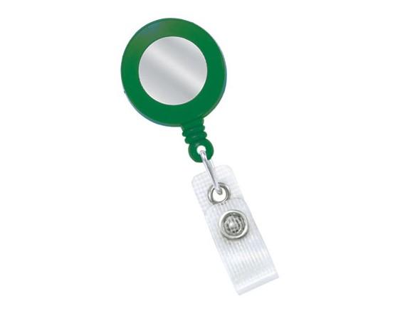 Kartenjojo, silb. Sticker, grün