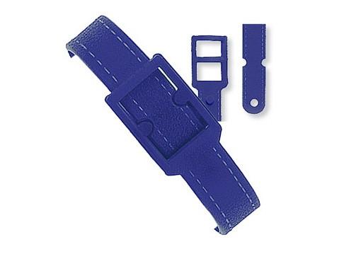 Kunststoff Gepäckriemen blau 187mm