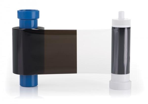 Magicard monochrom schwarz Farbband mit Overlay