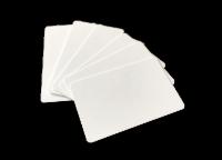 Plastikkarten PVC weiß