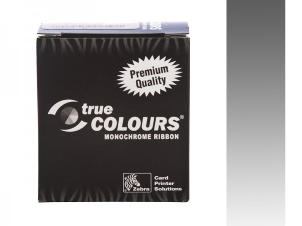 Zebra Performance Line Farbband silber monochrom