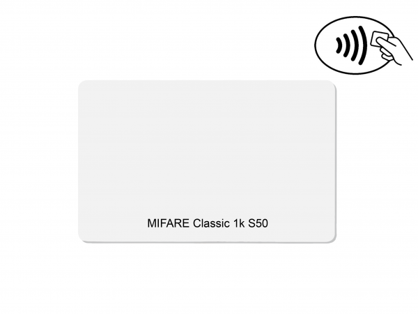 Chipkarte MIFARE Classic 1k S50 blanko