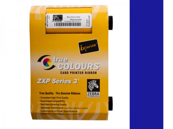 Zebra ZXP Series 3 Farbband blau monochrom