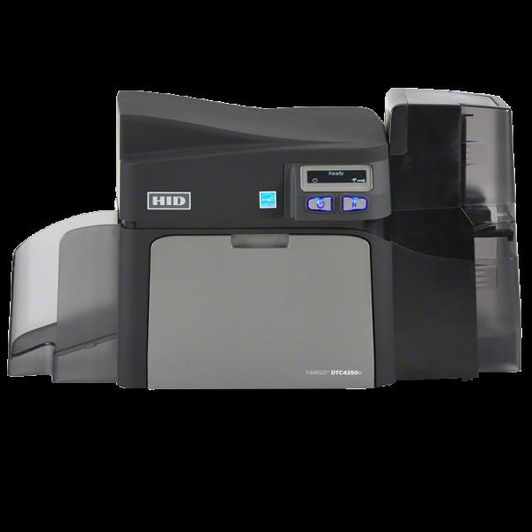 HID Fargo Kartendrucker DTC4250e Dual Front 052216